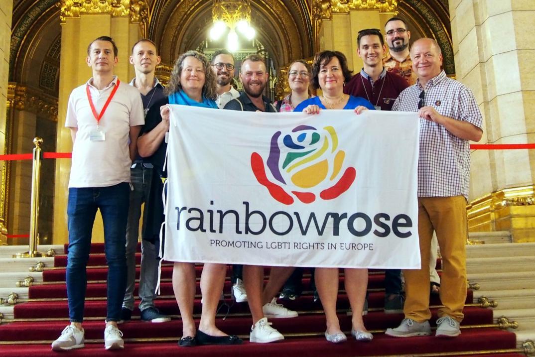 Budapest Pride miatt jöttek hazánkba